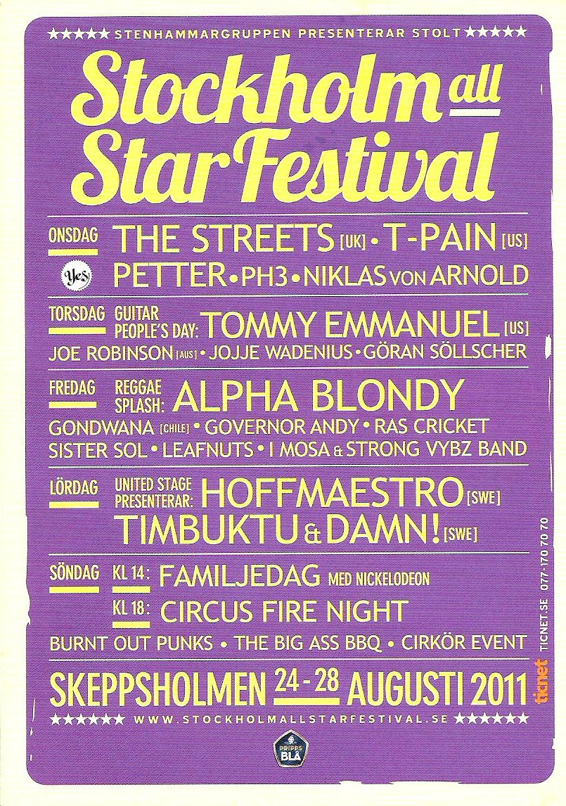 Stockholm All Star Festival