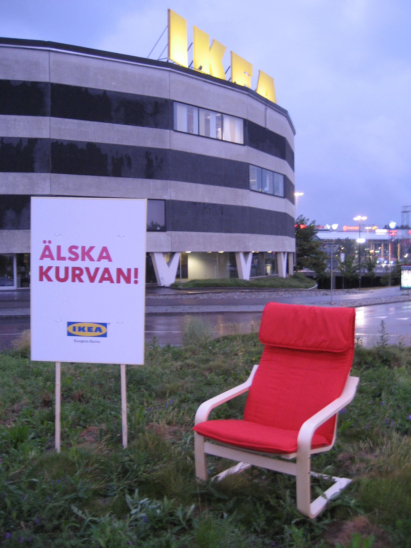IKEA Reklamkampanj Guerillamarketing