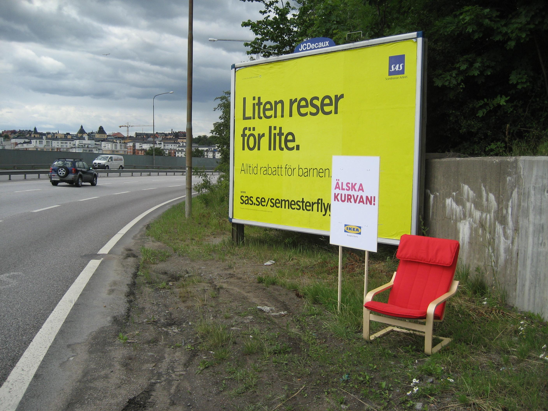 Ikea älska kurvan