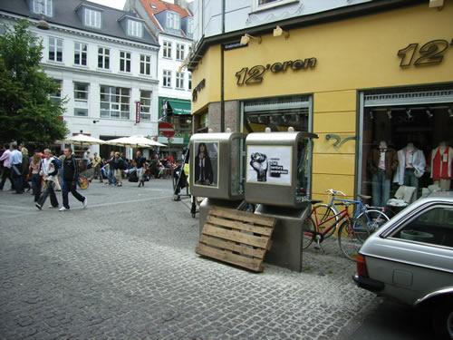 J Lindeberg-posters i Köpenhamn